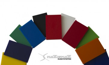 Plexiglas Acrysign kleuren tbv letters Plaat 3050x2030