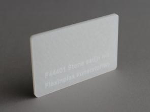F44401 Stone satijn wit
