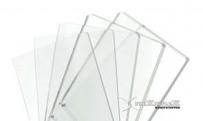 Plexiglas gegoten Glashelder