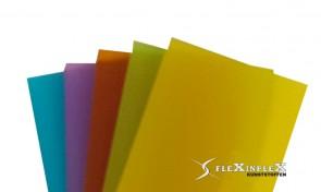 Plexiglas plaat Dubbelzijdig Satijn Fris Gekleurd