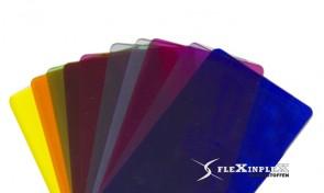 Plexiglas Transparant Gekleurd